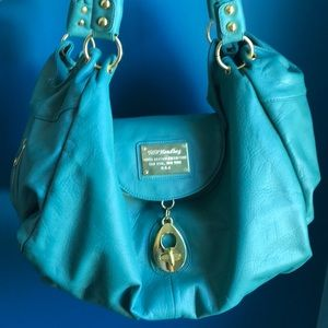 Handbags - Turquoise large hobo bag